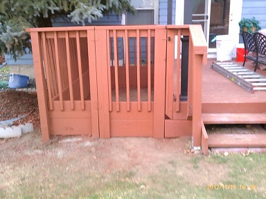 New Fence And Gate - Highlands Ranch