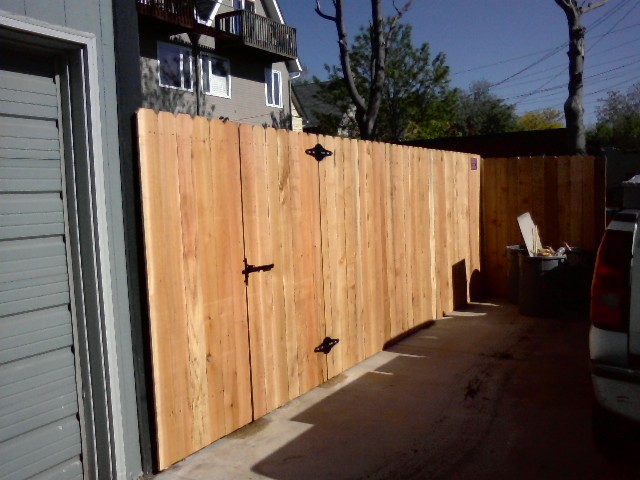 New Fence Gate - Denver