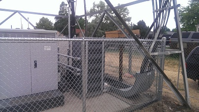 Industrial Chainlink Fence - Denver