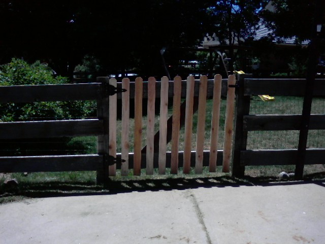 Repaired Gate - Arvada