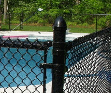 vinyl coated chain link wire_fence