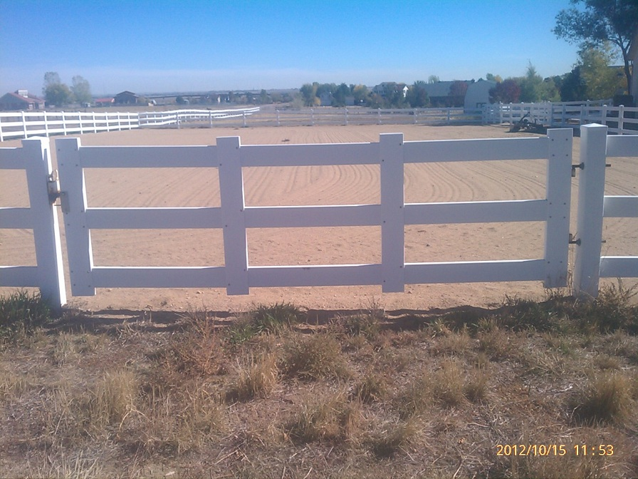 Horse Ranch Fence Gate Westminster